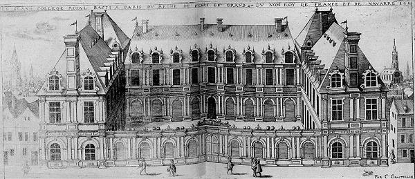 Le Collège Royal (C. Chastillon, 1612)