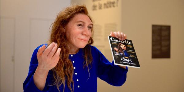 © Expo Néandertal - Kinga, par Elisabeth Daynès, MNHN - JC Domenech
