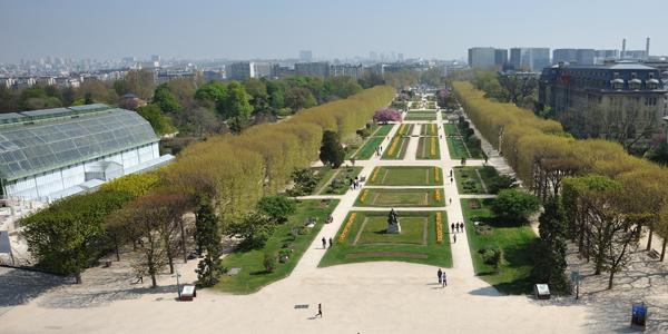 Jardin des Plantes Vue GGE JdP 8720 © F-G Grandin MNHN