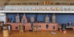Laboratoire de chimie, 1783 Maquette de Madame de Genlis, © Musée des arts et métiers-Cnam/photo Michèle Favareille
