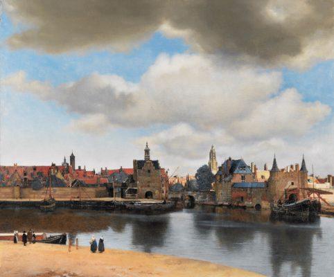 La Vue de Delft, Vermeer